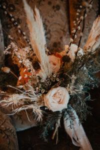 Trockenblumen Hochzeitsstrauß