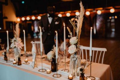 Tischdeko Hochzeitsdeko Hochzeitsglück Hof Frien
